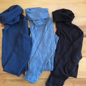 Gap + Old Navy SM turtlenecks